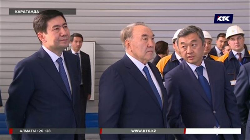 Карагандинцы похвастали перед президентом своими достижениями