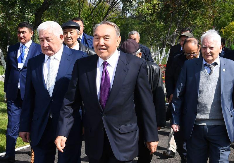 Нурсултан Назарбаев посетил город своей молодости