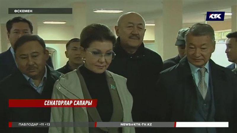 Дариға Назарбаева  сарбаздардың жағдайымен танысты