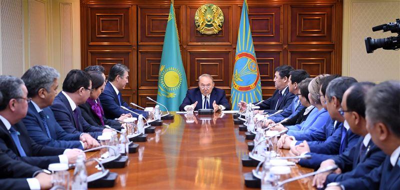Президент Казахстана провел совещание с активом Астаны