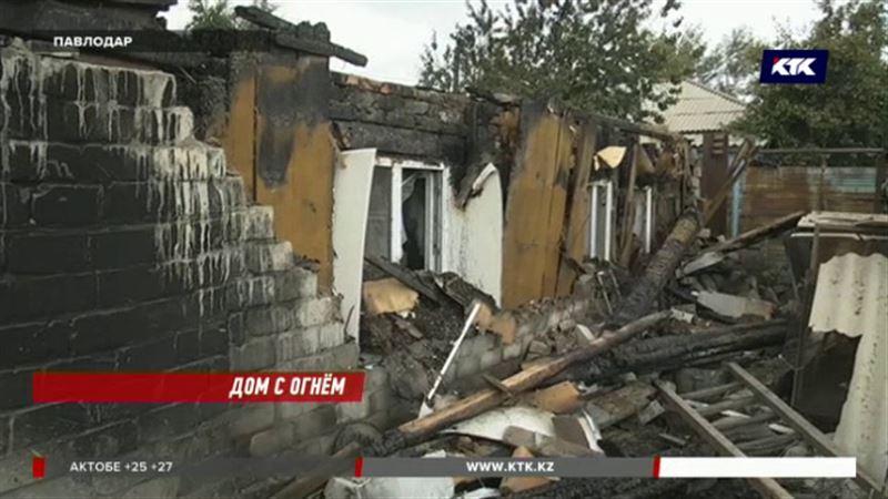 Многодетная семья и пожилая пара едва не погибли в Павлодаре