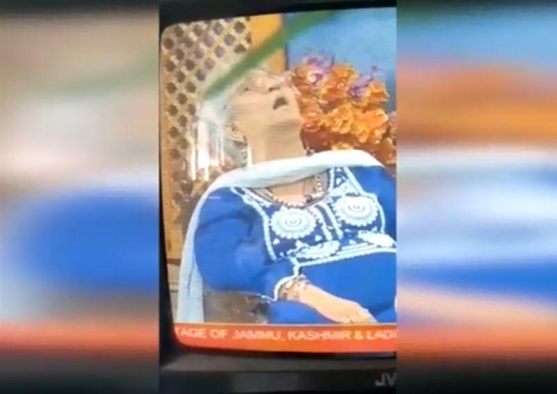 Профессор скончалась в прямом эфире индийского телеканала
