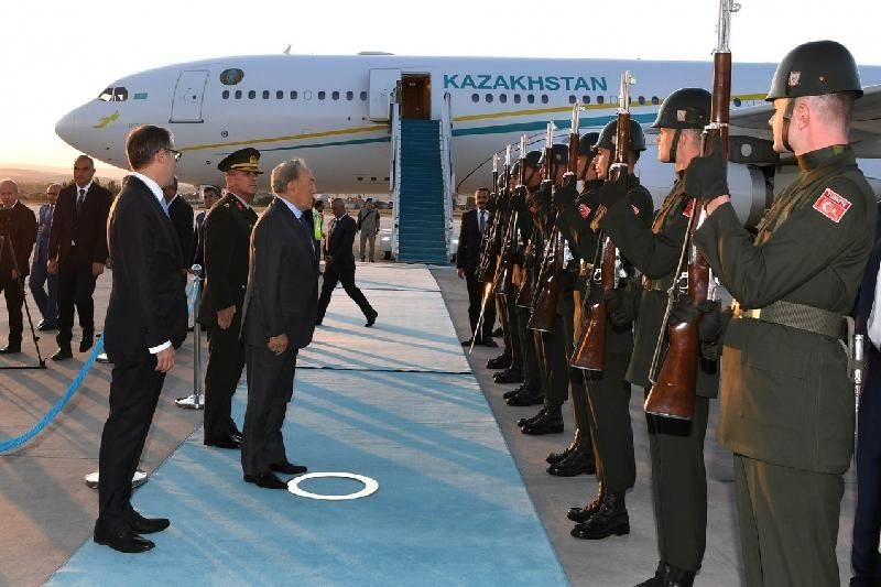 Назарбаев прибыл с официальным визитом в Турцию