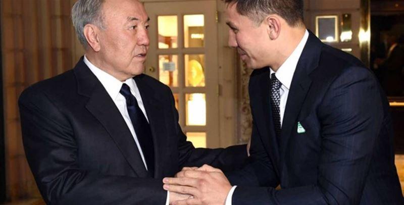Нурсултан Назарбаев встретился с Геннадием Головкиным