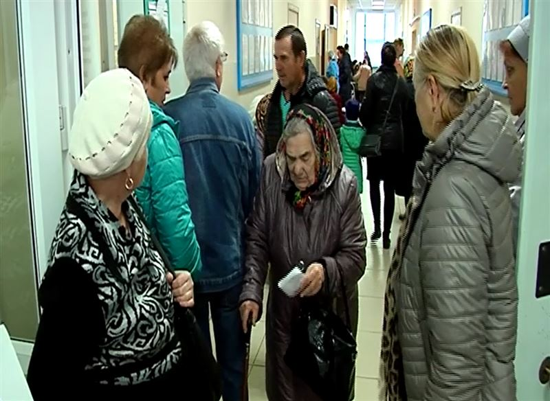 В Петропавловске аптеки поликлиник не справляют с наплывом клиентов