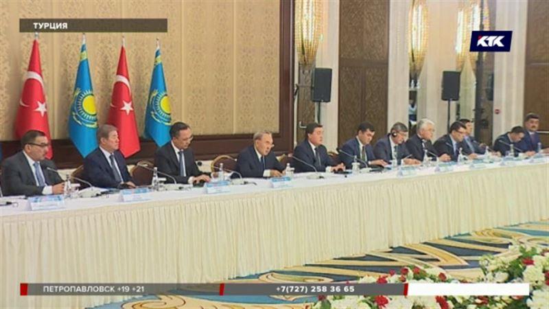 Президент Назарбаев выразил сожаление, что не все турецкие компании представлены в Казахстане