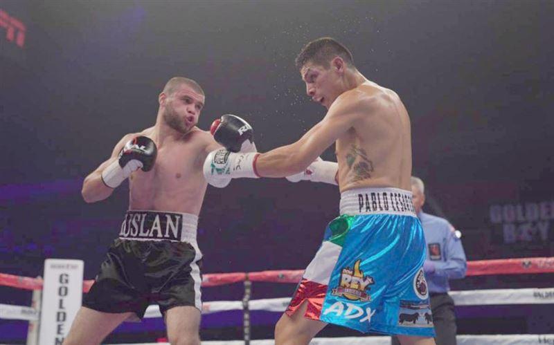 Руслан Мәдиев кәсіби бокстағы мансабында алғаш рет жеңілді