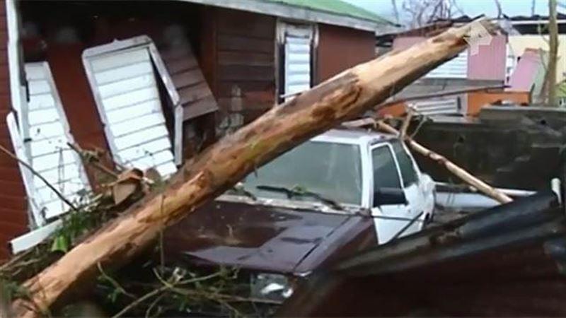 Ураган «Флоренс» достиг восточного побережья США