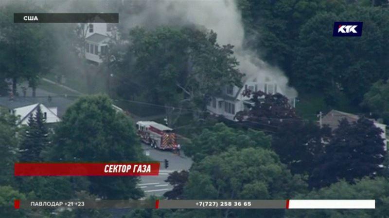 40 домов, 70 взрывов, 16 пострадавших – пожар на газопроводе