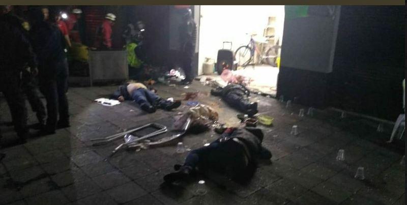 Қала орталығында атыс болып, бірнеше адам қаза тапты