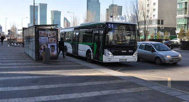 Бүгін Астанада бірқатар автобус бағдары өзгереді