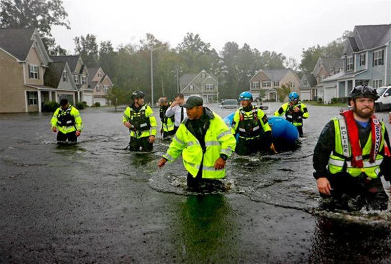 В США число жертв урагана «Флоренс» достигло 17 человек
