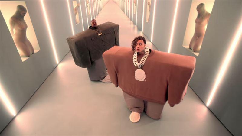 Клип Канье Уэста и Lil Pump набрал рекордное число просмотров