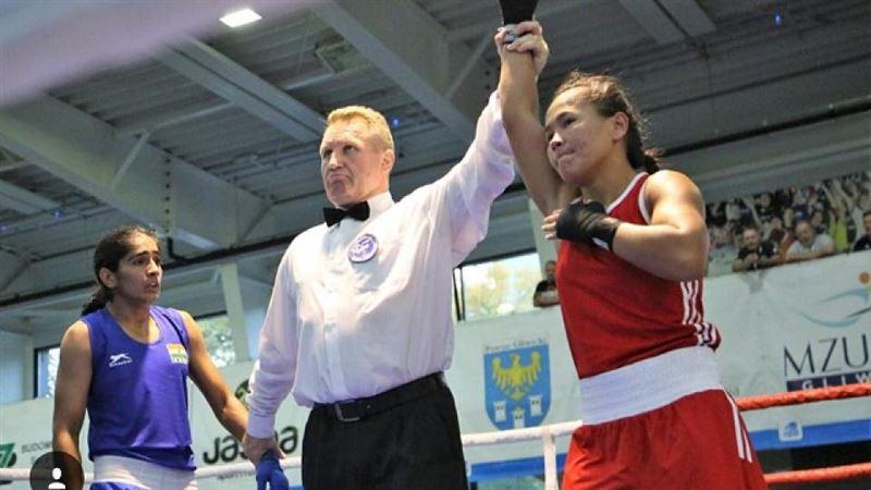 Боксерша из Казахстана взяла «золото» на турнире в Польше