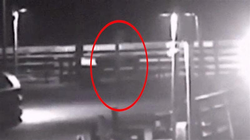 Призрак, о котором слагают легенды, попал на видео