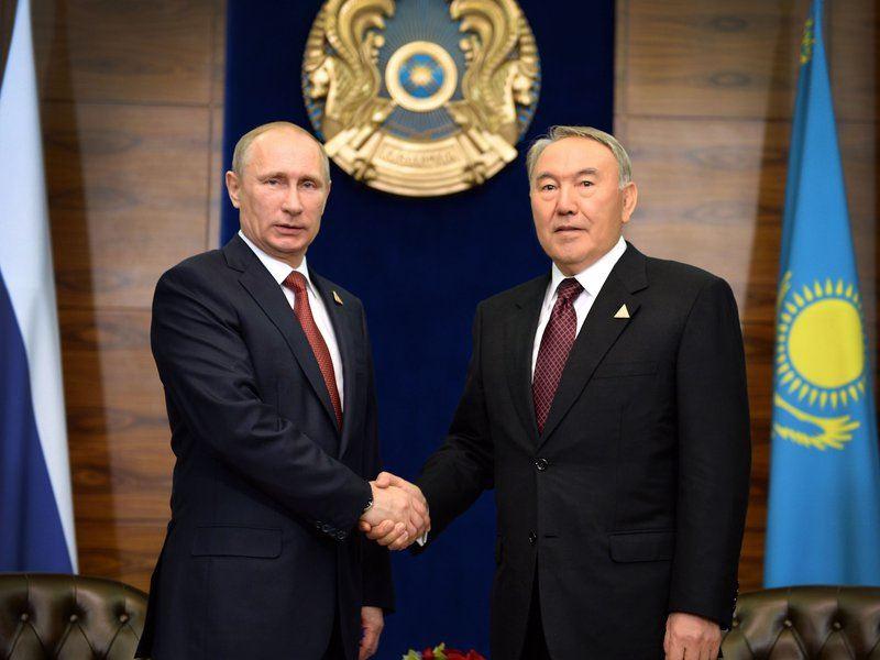 Нурсултан Назарбаев выразил соболезнования президенту России