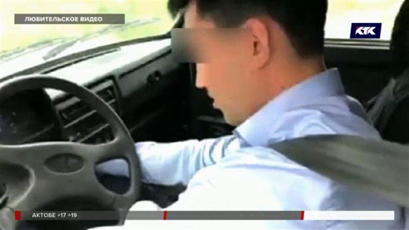 Актюбинцы испортили полицейскому служебное досье