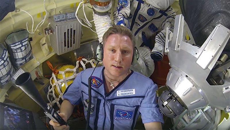 Российский космонавт поседел после утечки воздуха на «Союзе»
