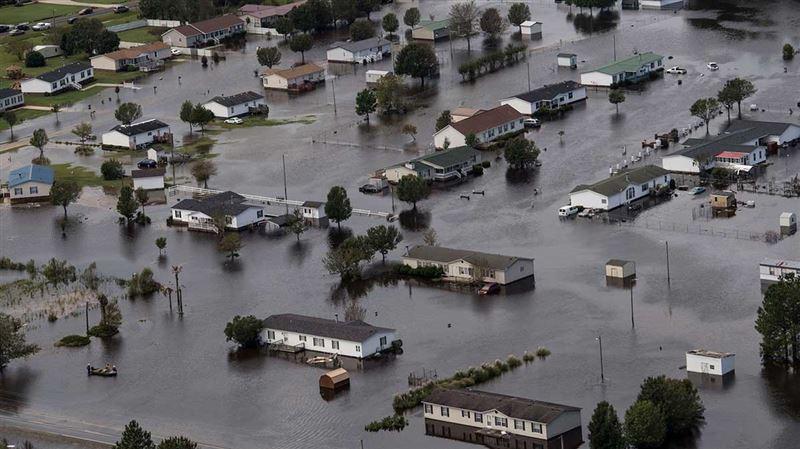 Аналитическое агентство оценило ущерб от урагана «Флоренс»