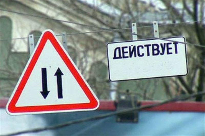 В Алматы на улице Айманова введут двухстороннее движение