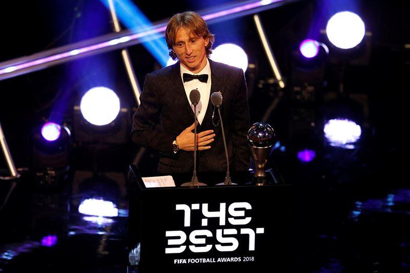 Лука Модрич стал лучшим игроком года по версии ФИФА