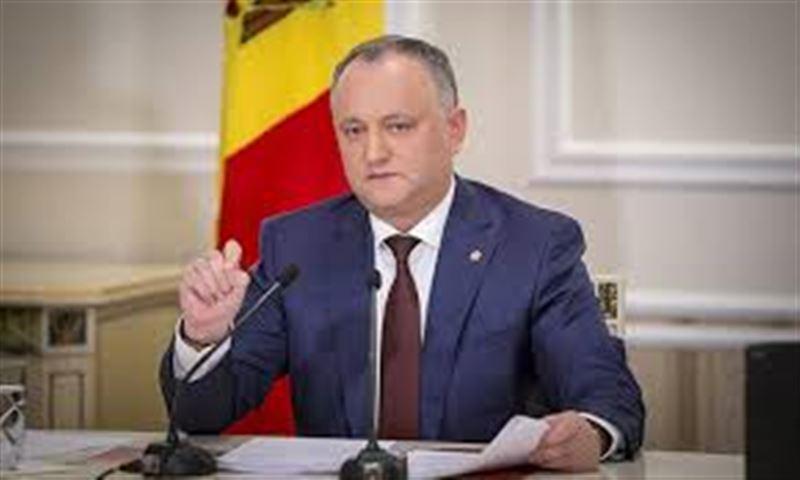 Молдова президенті биліктен шеттетілді