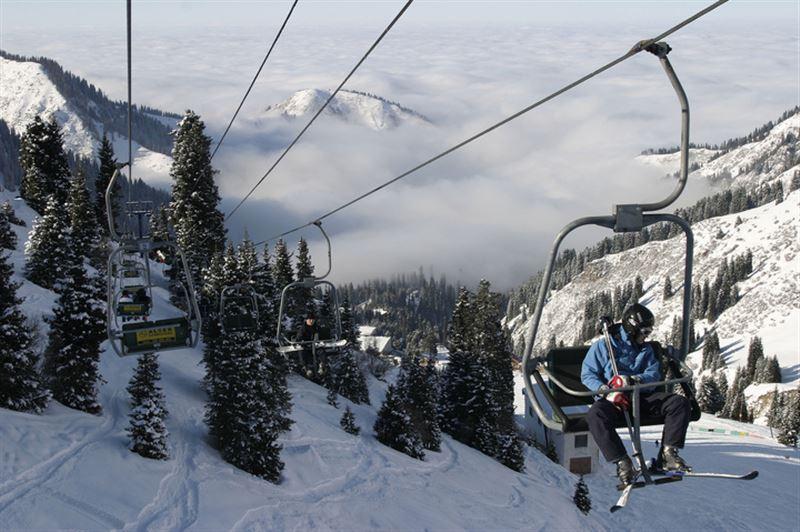 Шымбулак признан популярнейшим горнолыжным курортом СНГ