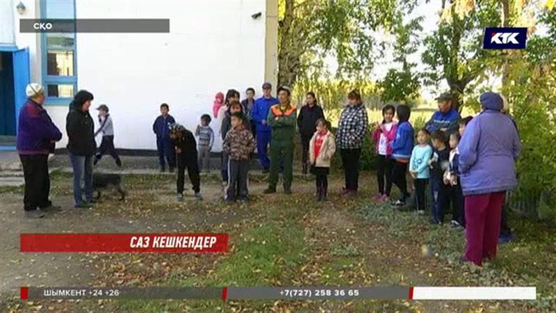 Солтүстікте оқушылар жібі түзу жол талап етті