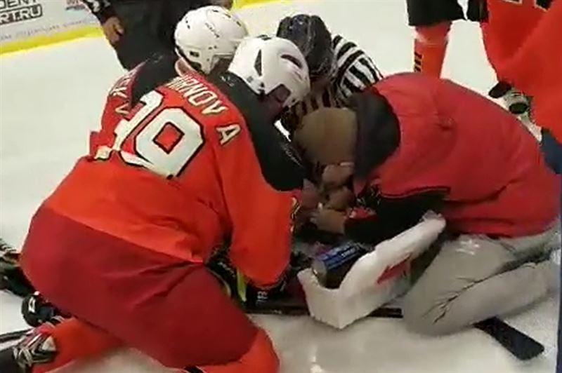 Хоккейші ойын кезінде қаза тапты