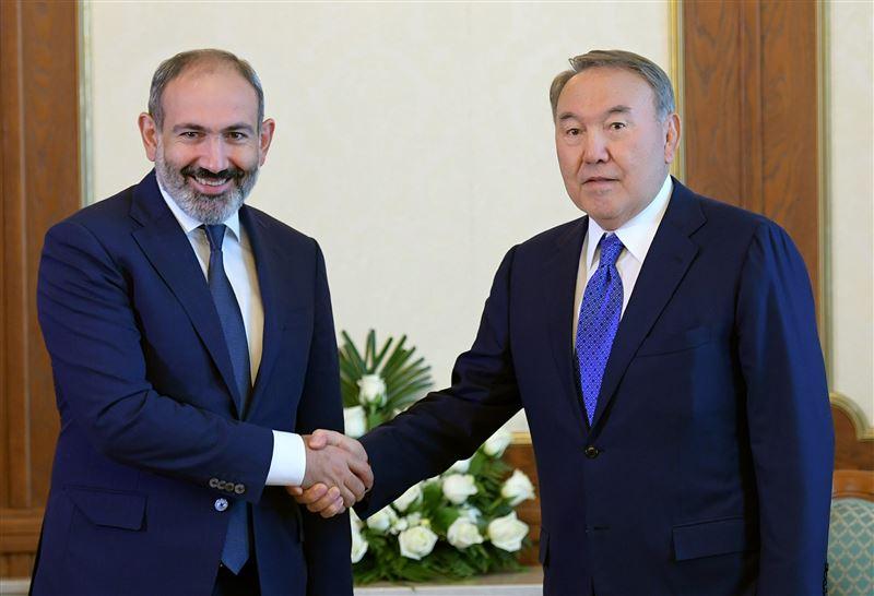 Назарбаев отметил высокий уровень сотрудничества между Казахстаном и Арменией