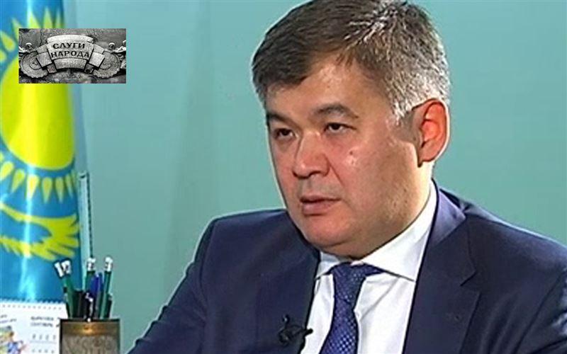 Елжан Биртанов,  министр здравоохранения РК