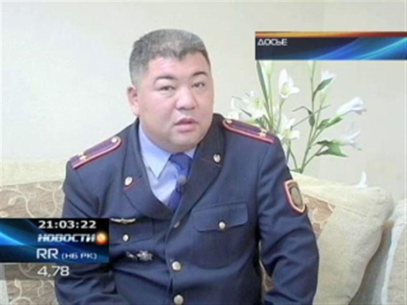 В Актобе главный полицейский города подозревается в избиении подчиненной