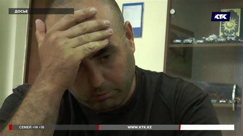Алматинцу, который бросил сына умирать на улице, продлили арест