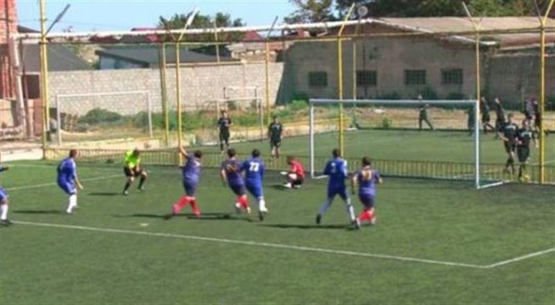 В Дагестане судья забил гол в моменте с пенальти