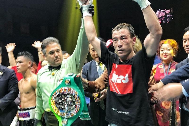 ВИДЕО: Ұлан Төлеғазыұлы WBC тұжырымы бойынша әлем чемпионы атанды