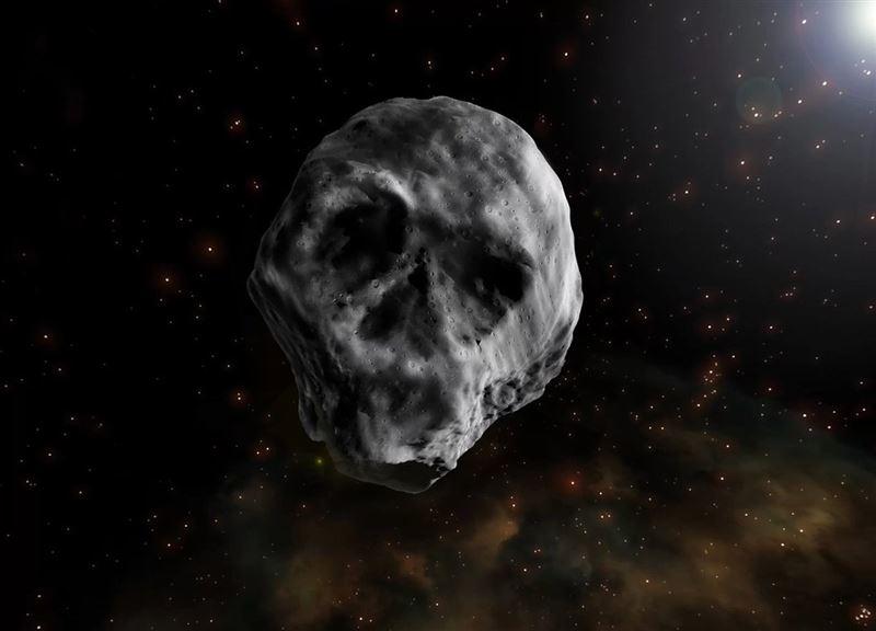 Астероид в форме черепа приближается к Земле