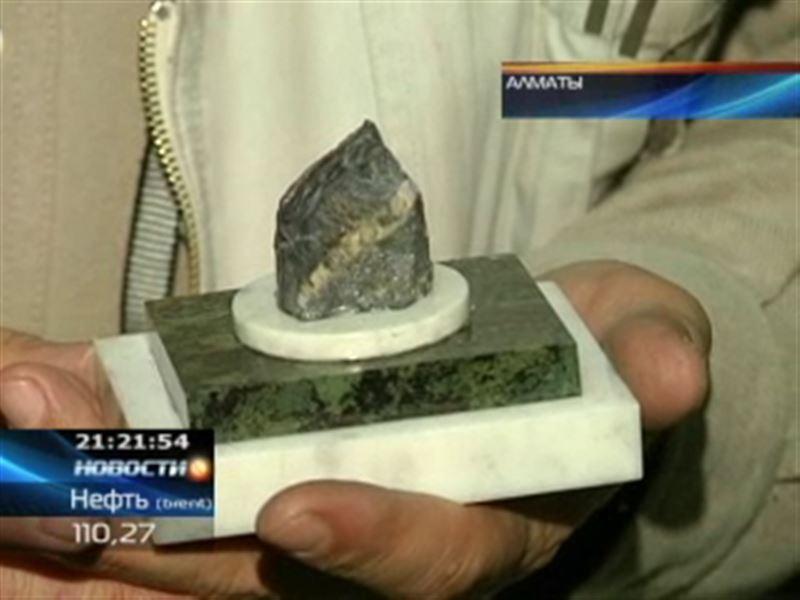 Необычный подарок на 20-летие независимости Президенту сделали геологи