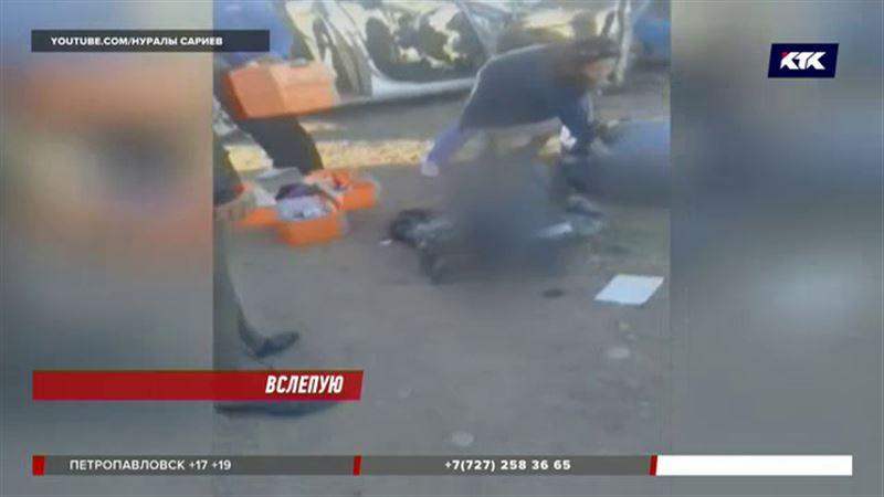 Начальник таразской колонии и его водитель погибли в страшной аварии