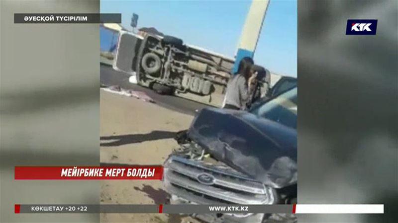 Атырауда жол-көлік апатынан мейірбике мерт болды