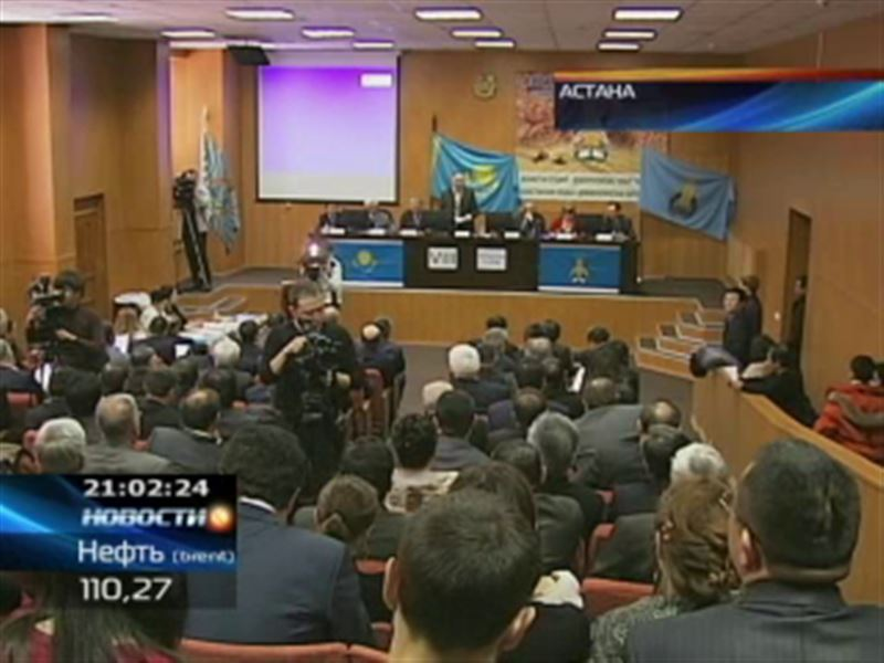 Практически все политические партии Казахстана уже представили списки кандидатов в депутаты Парламента