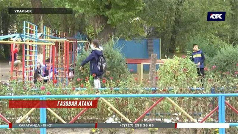 В Уральске госпитализировали 15 старшеклассников и учительницу