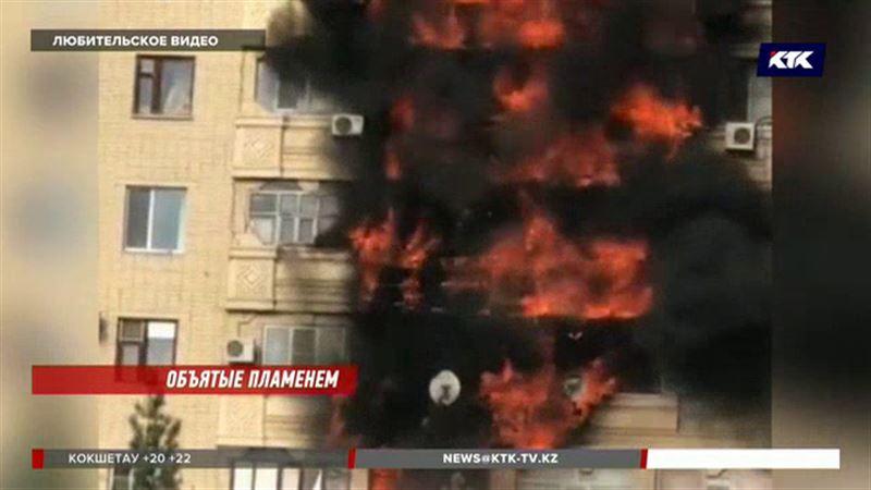 200 человек эвакуировали, троих едва спасли – в Актобе горела многоэтажка