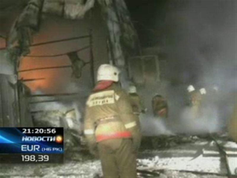 Два крупных пожара в Астане – едва не сгорел офис одной из крупных нефтяных компаний