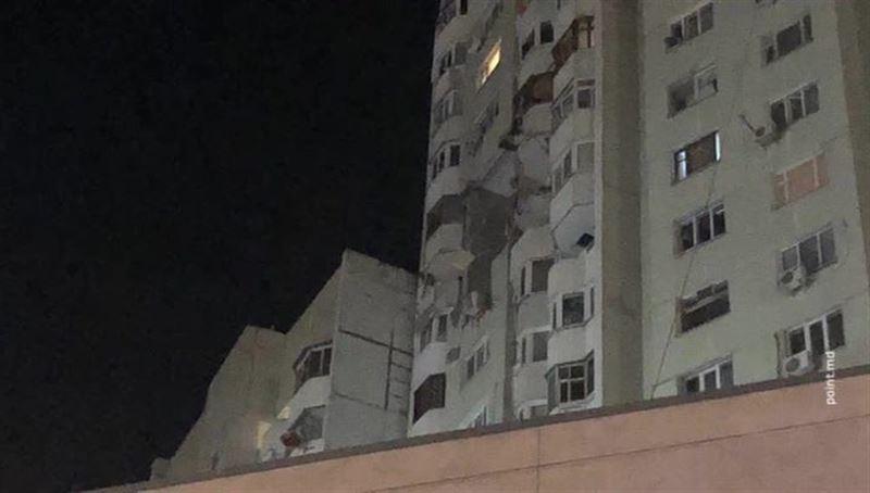 Мощный взрыв прогремел в многоэтажке в Кишинёве