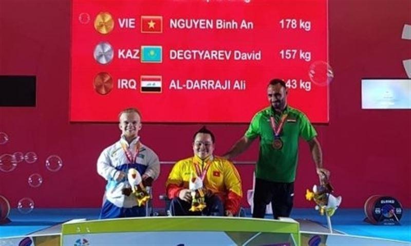 Казахстан стал обладателем первых медалей Азиатских Параигр