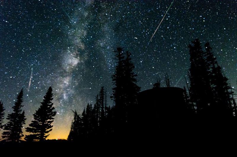 В ночь на 9 октября казахстанцы увидят звездопад Дракониды