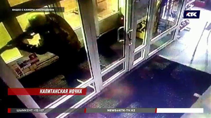 Акмолинские полицейские задержали налетчика на АЗС – хорошо знакомого им капитана