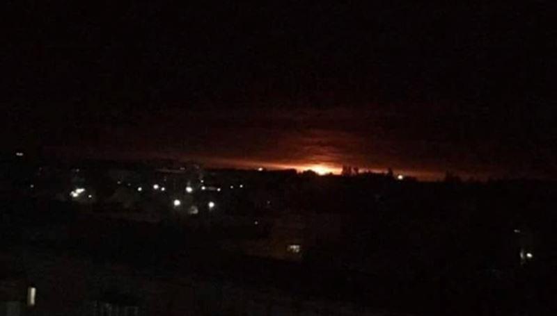 На Украине взорвался склад боеприпасов