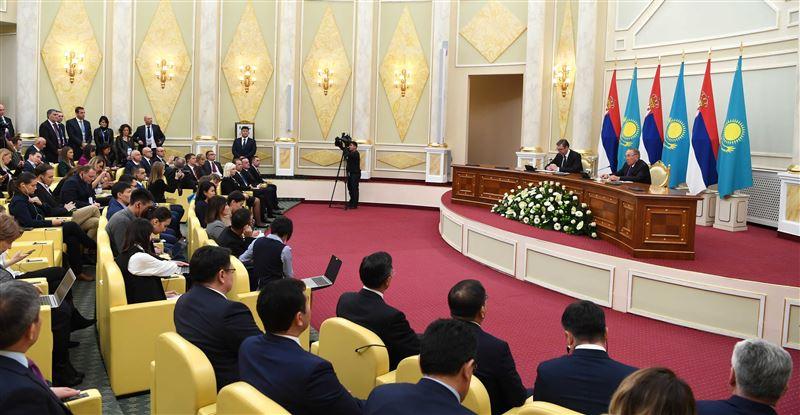 Нурсултан Назарбаев рассказал о сотрудничестве между Казахстаном и Сербией