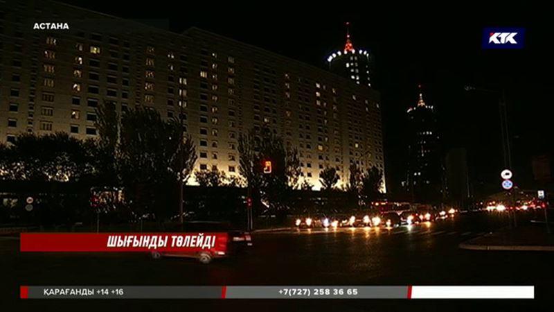 Астанада депутаттар бірнеше сағат бойы жарықсыз отыруға мәжбүр болды